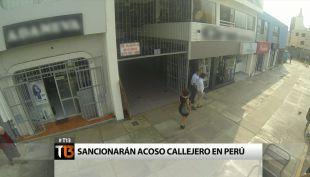 Sancionarán acoso callejero en Perú