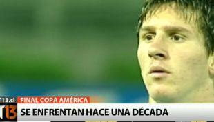 [VIDEO] Chile - Argentina: Dos generaciones que se enfrentan desde hace una década