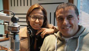 """Constanza Santa María y Ramón Ulloa en """"Conexión Tele13"""" de Tele13 Radio 103.3FM"""