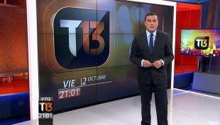 Revisa la edición completa de T13 de este 2 de octubre