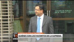Luis Toledo y Raúl Guzmán: ¿Quiénes son los candidatos a fiscal nacional?
