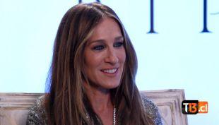 [VIDEO] Sarah Jessica Parker conversó con Jean Philippe Cretton