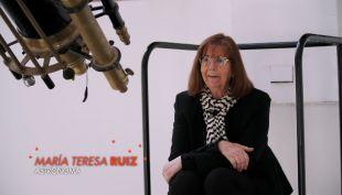 """María Teresa Ruiz, una astrónoma chilena que es una """"Labstar"""""""