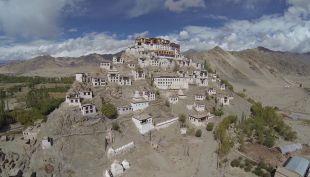 Destinos del Mundo: Thiksey, un monasterio budista en medio de Los Himalayas