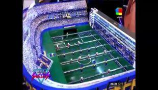 [VIDEO] Estadio La Bombonera se convirtió en un impresionante taca-taca