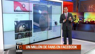 Así celebramos en Teletrece el millón de likes en Facebook