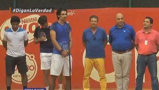 [VIDEO] Julio Peralta es la gran sorpresa en la nómina de Chile en Copa Davis