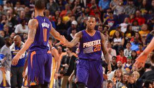[VIDEO] Dos compañeros de equipo protagonizan fuerte discusión en la NBA