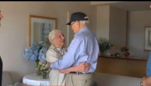 [VIDEO] Pareja separada por la Segunda Guerra Mundial se reúne luego de 70 años