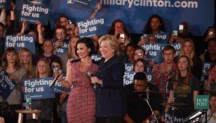Las celebridades que apoyan a los precandidatos a la presidencia de EE.UU.