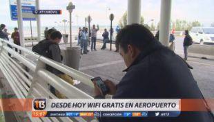 [IVDEO] Lanzan WiFi gratuito e ilimitado en el Aeropuerto de Santiago