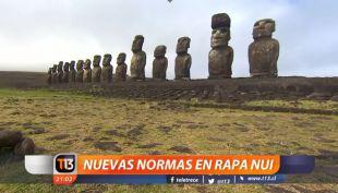 [VIDEO] Nueva normativa de residencia en Rapa Nui