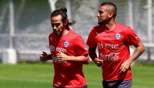[VIDEO] Arturo Vidal lamenta que Jorge Valdivia no esté presente en la Copa América Centenario