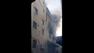 [VIDEO] El impactante rescate de tres niños durante un incendio en Corea del Sur