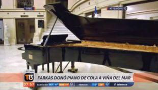 [VIDEO] La lujosa donación que realizó Farkas a Viña del Mar