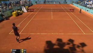 [VIDEO] La polémica jugada que indignó al mundo del tenis en el Masters de Madrid