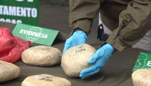 Decomisan más de 500 kilos de droga en San Bernardo con carabineros encubiertos