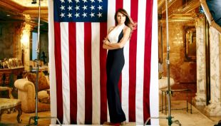 Melania Trump, desde las pasarelas a las puertas de la Casa Blanca