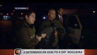 Asaltan casa de diputada Claudia Nogueira y detienen a tres personas