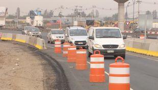 Así avanza la obra de la remodelada ruta Santiago-Lampa