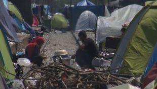 Grecia comienza el desalojo de los últimos refugiados de Idomeni