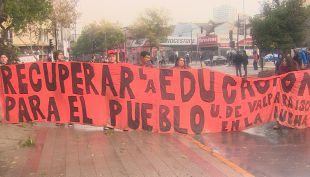[VIDEO] En primera persona: Así se vivió la marcha de los estudiantes