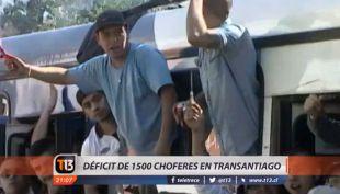 [VIDEO] Transantiago tiene un déficit de 1.500 conductores