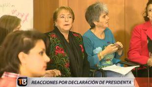 [VIDEO] Reacciones por declaración de la Presidenta Bachelet en caso Caval