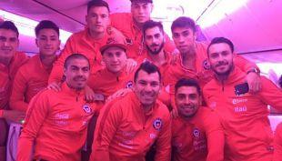 [EN VIVO] La selección chilena llega a San Diego para afrontar la Copa América