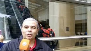 [VIDEO] Aldo Schiappacasse desde otro ángulo nos muestra la llegada de La Roja a EE.UU.