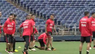 [EN VIVO] Jugadores de La Roja hablan tras práctica en San Diego