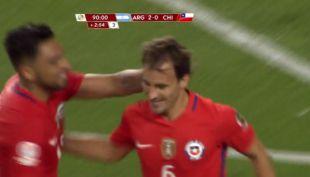 [VIDEO] El gol de José Pedro Fuenzalida en la caída por 2-1 ante Argentina en la Copa
