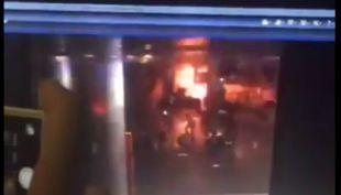 [VIDEO] El momento exacto de la explosión en el aeropuerto de Estambul