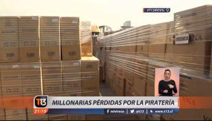 [VIDEOS] Piratería en Chile este año, ya supera al total del año pasado