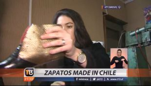 [VIDEO] El nuevo emprendimiento de zapatos Made in Chile