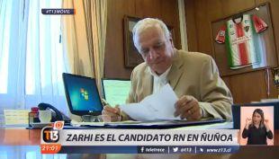 [VIDEO] Andrés Zahri es confirmado por Chile Vamos como candidato por la alcaldía de Ñuñoa