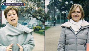Las candidatas a la alcaldía de Providencia, Josefa Errázuriz y Evelyn Matthei, se enfrentaron a un cuestionario sobre temas de la comuna