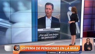 Sistema de pensiones en la mira