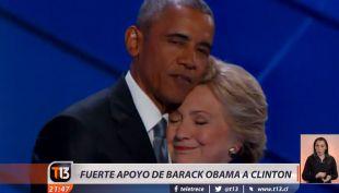 Obama hace férrea defensa de Clinton y pide al país llevarla a la victoria