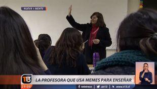 La historia detrás de la profesora que usa memes para enseñar