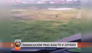[VIDEO] Persecución tras asalto a joyería termina con cinco detenidos