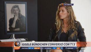 [VIDEO] Gisele Bündchen: las revelaciones de la supermodelo brasileña a T13