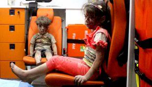 [VIDEO] La trágica vida de los niños de la guerra en Siria