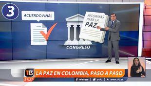 Ramón Ulloa explica el paso a paso para lograr el acuerdo de paz en Colombia con las FARC