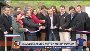 [VIDEO] Áreas Verdes: Inauguran nuevo acceso al cerro San Cristóbal