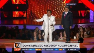 [VIDEO] Juan Gabriel, según Don Francisco: Cada vez que lo entrevistabas en cámara, interpretaba