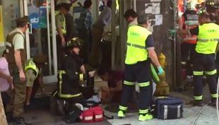[VIDEO] Caída de cornisa en Santiago: El testimonio de los heridos en el accidente