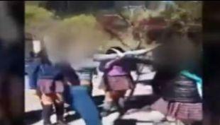 [VIDEO] Brutal agresión a una niña de 14 años en Concepción alarma a las autoridades