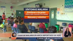 [VIDEO] Autoridades sanitarias identifican caso de malaria importada en Arica