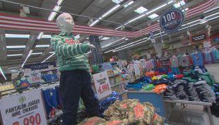 Vestirse en el supermercado, la tendencia que ya se instaló entre los chilenos